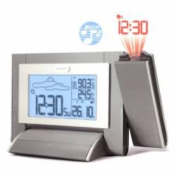 Barometro/orologio sveglia radiocontrollato Oregon RADIO FM