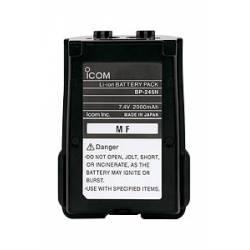 Pacco batterie ricaricabile agli Ioni di Litio Icom BP-245N