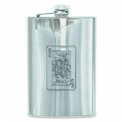 Fiaschetta inox Starwings KING CARD 8 OZ