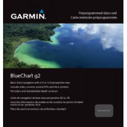 Micro SD/SD Bluechart G2 Garmin NORDICS X-LARGE