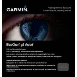 Micro SD/SD g2 Vision Garmin SICILY TO LIDO DI OSTIA VEU460S