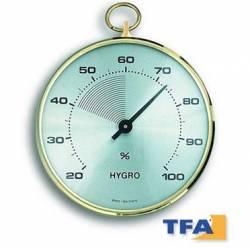 Igrometro con lunetta in ottone TFA
