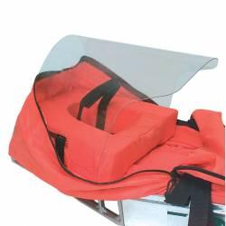 Cuscino poggiatesta e protezione per il viso Kong VISI