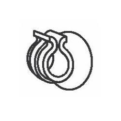 Supporto per tubo Petzl