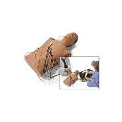 Simulatore manichino tronco a 12 derivazioni Laerdal