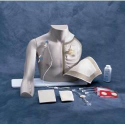 Trainer modello tronco accesso vascolare Laerdal TORACE CHESTER