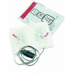 Placche 6 paia per defibrillatore FR2 Laerdal