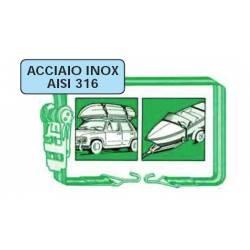 Cinghia regolabile acciaio inox Trem EASY-CARGO