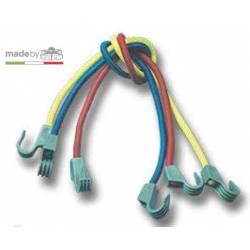 Corda elastica milleusi Trem CON GANCI IN NYLON