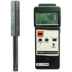 Misuratore di temperatura e umidità Lutron HT-3006A