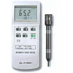 Misuratore di temperatura/umidità Lutron HT-3006HA