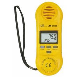 Misuratore di temperatura e umidità Lutron LM-81HT