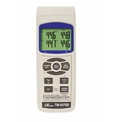 Termometro con scheda SD Lutron TM-947 SD