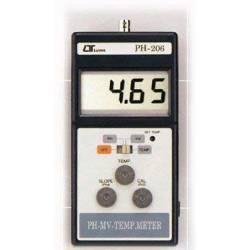 Misuratore digitale di PH, mV-Temperatura Lutron PH-206