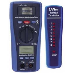 Tester di reti LAN e multimetro Lafayette DMB-LAN