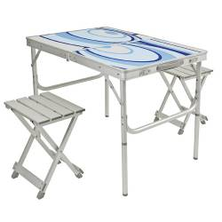 Set tavolo pieghevole c/sgabelli Brunner BENSIT PLANETS